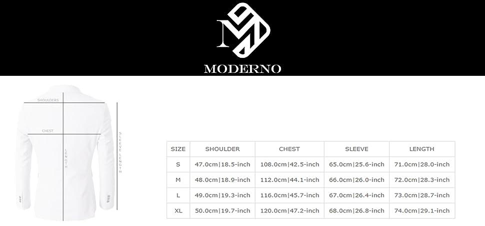 Amazon.com: Moderno Blazers para hombre Slim Fit chamarra de ...