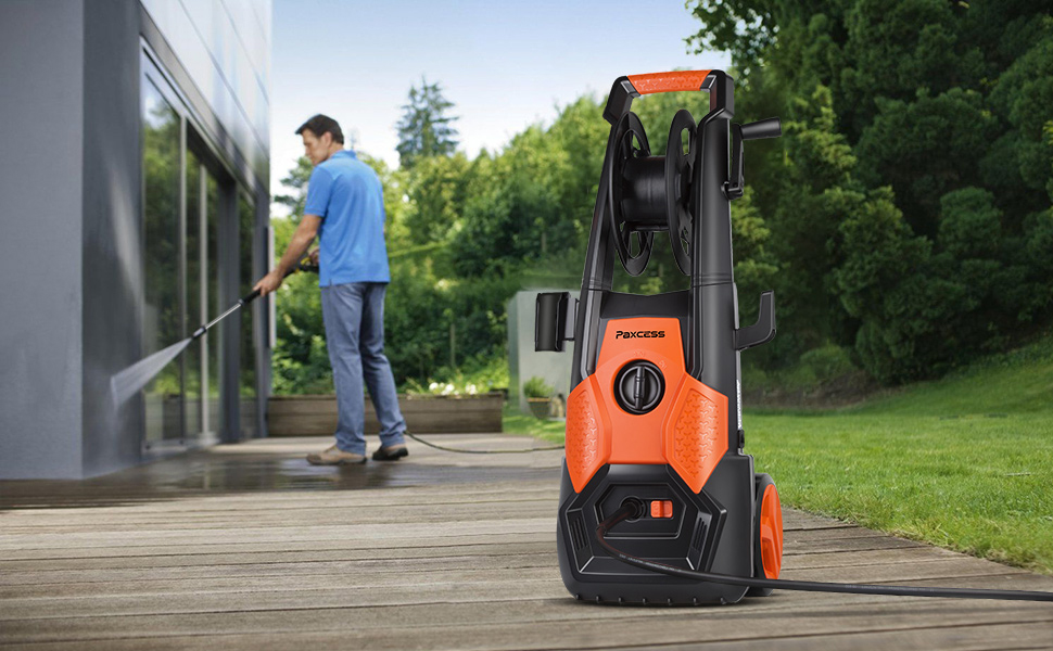 Amazon Com Paxcess Electric Pressure Washer 2150 Psi 18 5