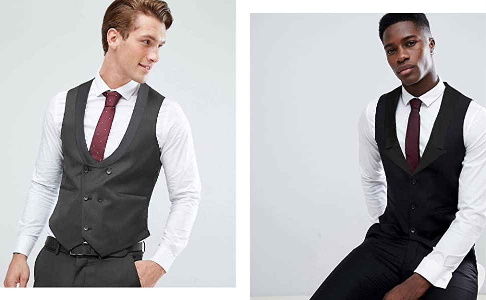 casual waistcoat men