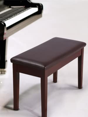High Quality Padded Piano Stool Piano Bench Keyboard Seat Storage Chair  Brown