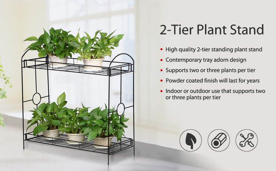 Package Included: 1 X Plant Stand