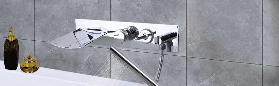 Chrome Tub Filler Faucet