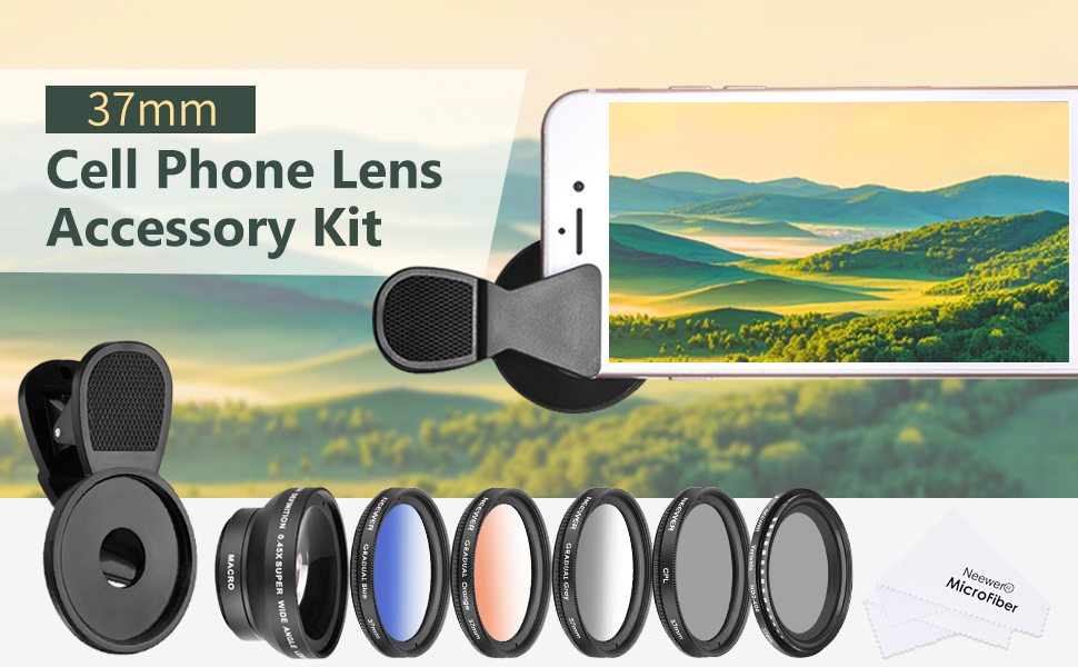 Polarizer 2017 Closeup Lens Kit for Samsung Galaxy J2 Gadget Place Variable ND Filter