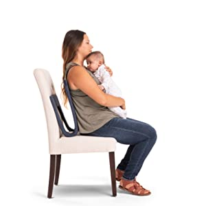 woman sitting with a ready rocker