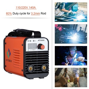 AT2000 Mini Dual Volt ARC 110/220V Portable Welder to Use