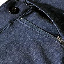 button closure golf shorts