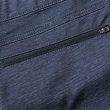 zip closure back pocket