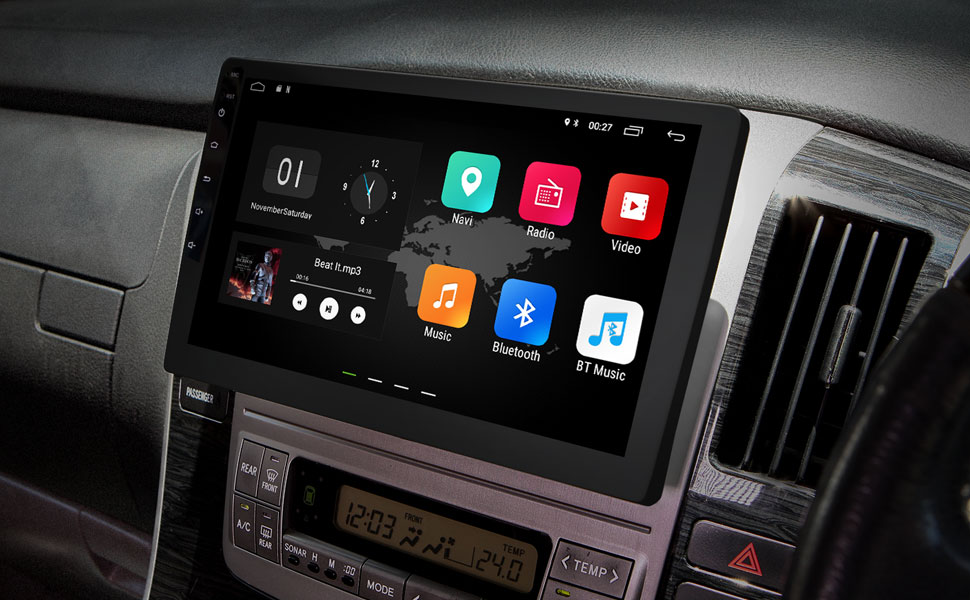 Amazon.com: 2019 Double Din Car Stereo, Android 8.1 Car Radio Stereo on
