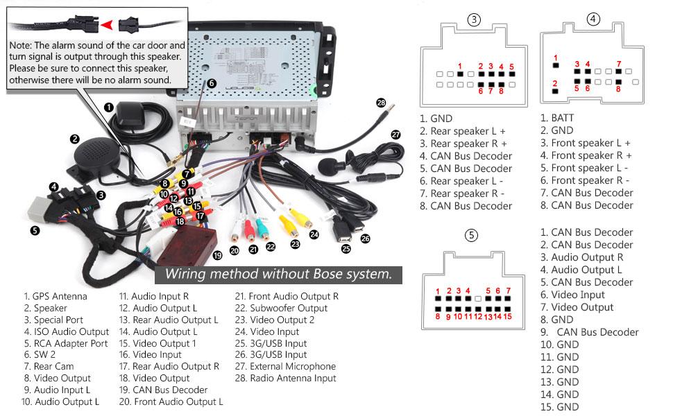 Awe Inspiring Eonon Wiring Diagram Basic Electronics Wiring Diagram Wiring 101 Eumquscobadownsetwise Assnl