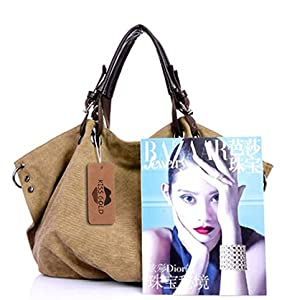 Amazon.com: Kiss Gold (TM) - Bolso de lona estilo europeo ...