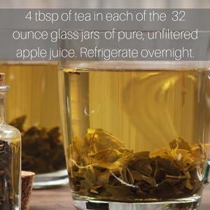 stone away tea instruction