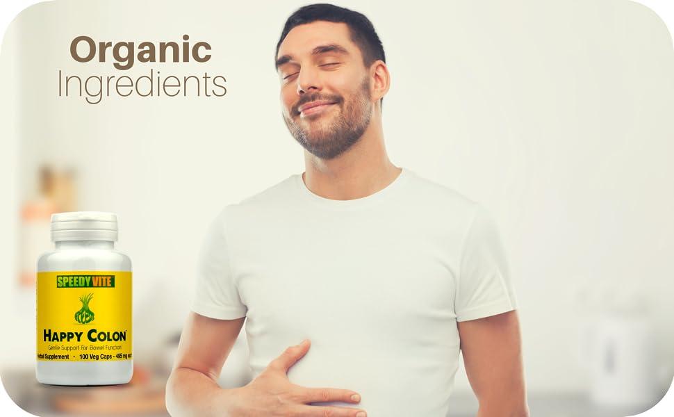 speedyvite happy colon cleanser gentle organic natural