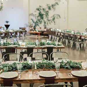 table runners/centerpieces