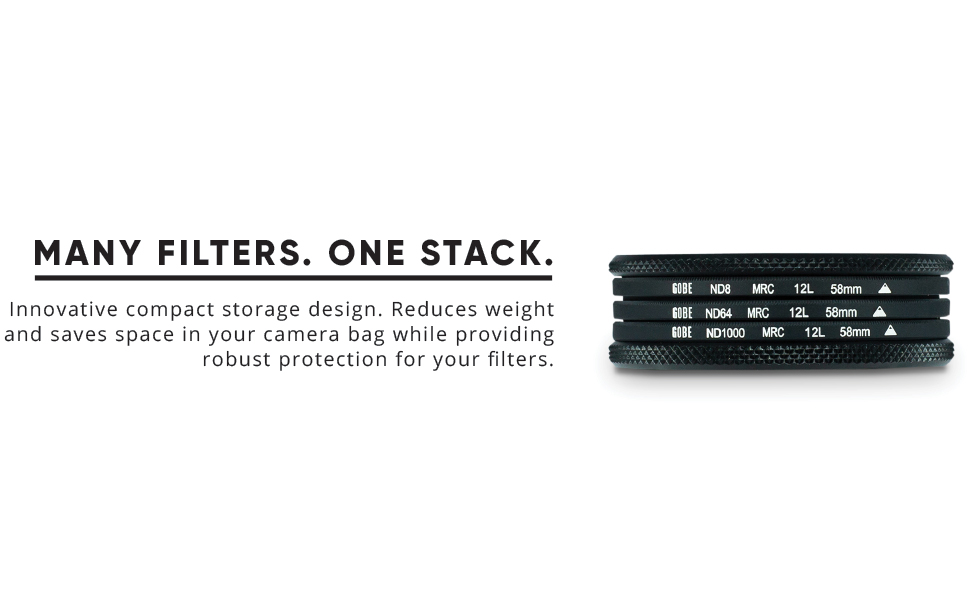 Gobe ND64 52mm MRC 12-Layer ND Filter
