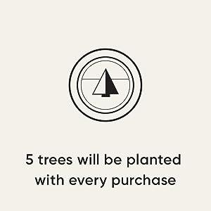 Plant 5 trees