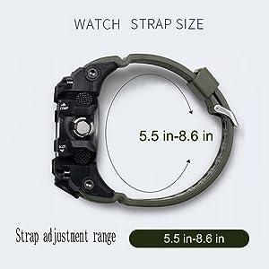 band strapsize