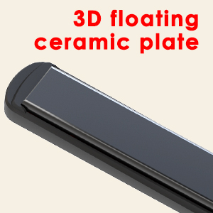 3D floatingcermiac plate