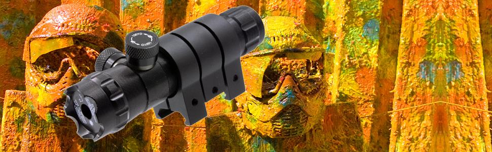 survival land green laser gun sight scope hunting paintball paint ball airsoft rifle handgun pistol