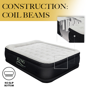 king koil air mattress construction coil beam technology