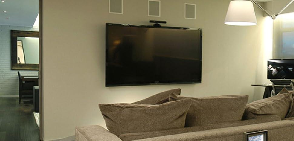 Amazon Com Sunydeal Tilt Tv Stud Wall Mount Bracket For