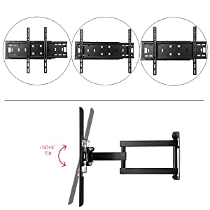 Amazon Com Sunydeal Tv Wall Mount Bracket For Most 26 65