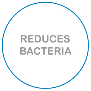 KerraCel Ag Silver Dressings reduce bacteria