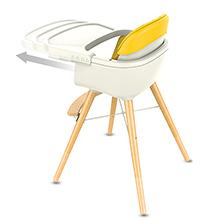 high chair yellow