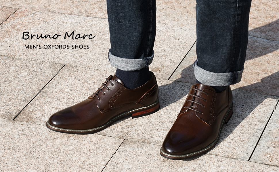 Flexible and Comfort oxfords