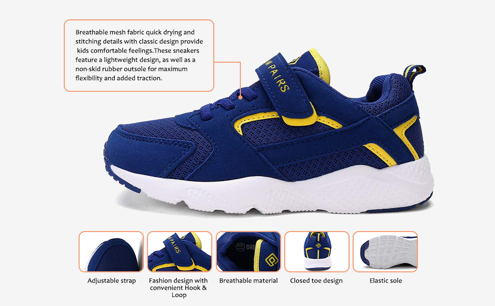 Athletic Running Shoes for boys and girls