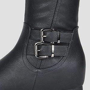 2ae3d2fef8649 dream pairs women knee high boots