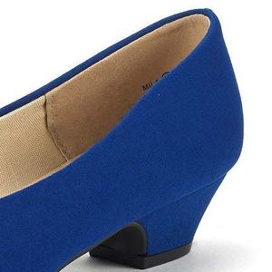 0948ec456a52 women round toe Karma pump