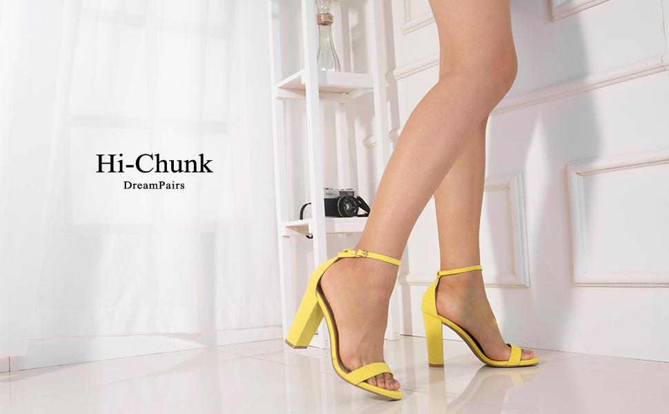 Dream pairs high heel pump sandals