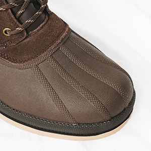 Waterproof leather upper