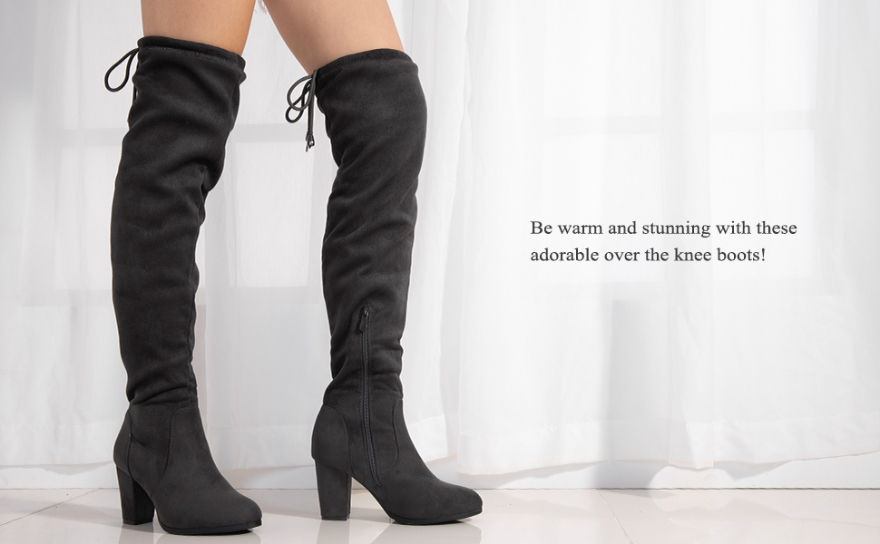 6e8811add7f Dream pairs women boots. Dream Pairs Women Over the Knee Boots