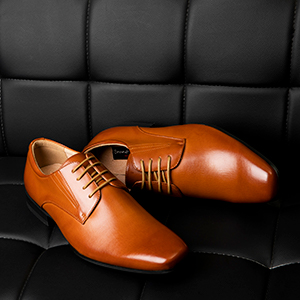 Bruno Marc Men's Leather Lined Snipe Toe Dress Oxfords Shoes