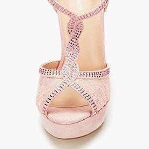 Women high heel platform pumps sandals