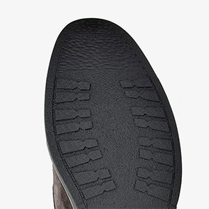 Non-skid rubber outsole provide traction and grip