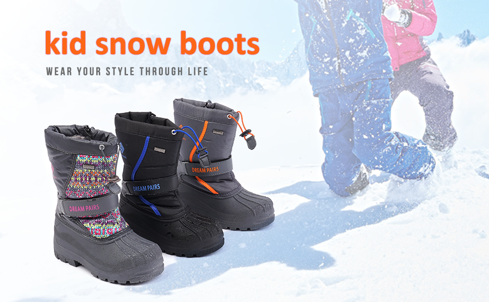 kid snow bootstoddler snow boots boys