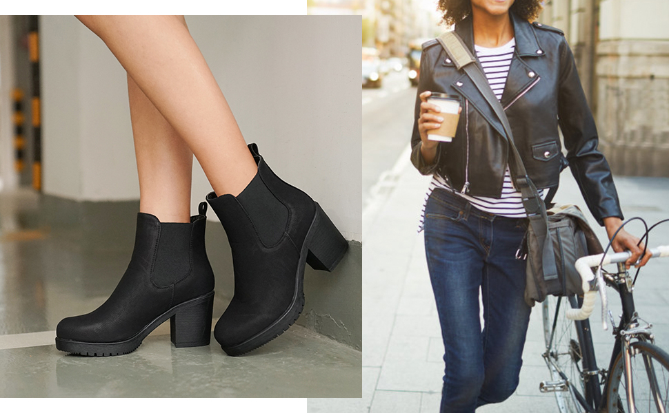 Dress Ankle Boots Women