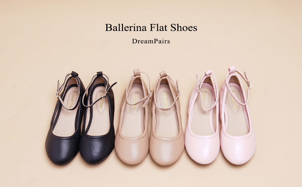 Details about DREAM PAIRS Sole-Fina-K Toddler/Kid Boys Girls Ankle Strap  Ballerina Flat Shoes