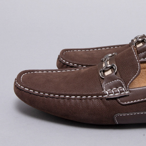 BRUNO MARC NEW YORK Men's Santoni-03 Penny Loafers Moccasins Shoes