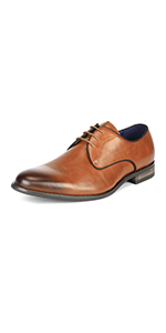 mens round toe oxfords