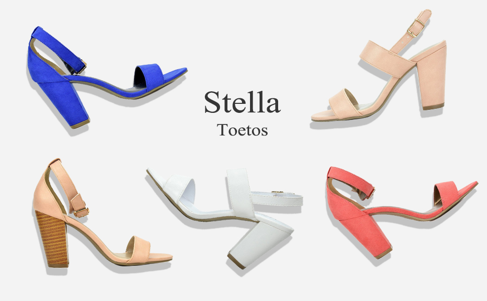 60d15ce4985 Feel comfortable with every step you take with these cute low chunky heel  sandal! Open-toe heels are designed in smooth vegan leather suede and  feature a ...