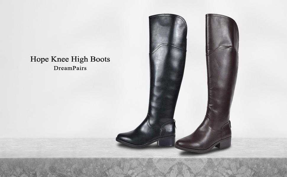 5d7b6166865d1 dream pairs knee high boots