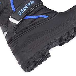 Sturdy antiskid outsole snow boots