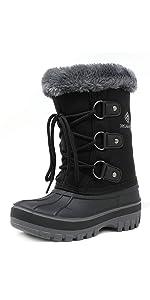 snow boots warm waterproof