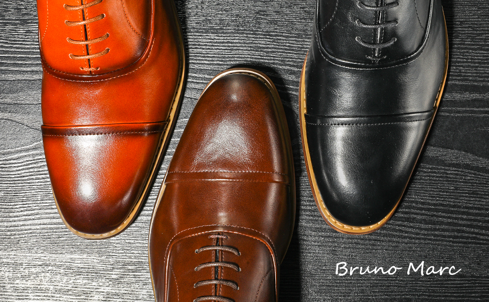 Bruno Marc Men's William Oxfords Dress Shoes