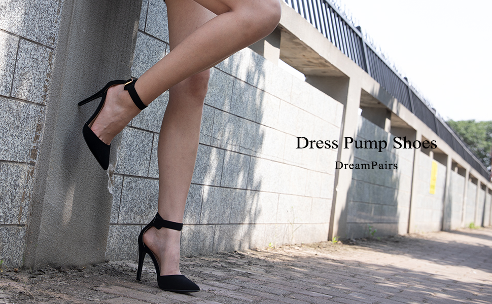 high heel mid heel stiletto pumps