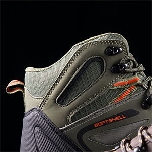 NORTIV 8 Men's Ankle High Waterproof Hiking Boots Outdoor Lightweight Shoes Backpacking Trekking