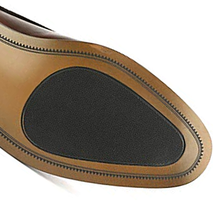 Classic round toe and durable sole.
